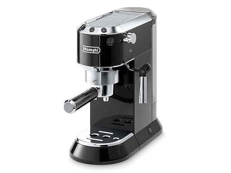 machine espresso manuelle delonghi dedica ec680 bk noir metallis. Black Bedroom Furniture Sets. Home Design Ideas