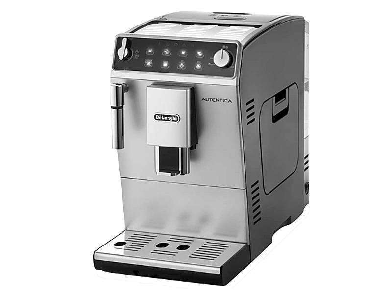 machine caf delonghi autentica etam argent et noir. Black Bedroom Furniture Sets. Home Design Ideas