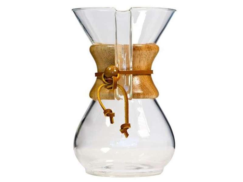 Chemex 8 tasses, la cafetiere design et hype pour réaliser un bon café