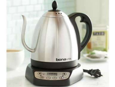 Bonavita marque de r f rence bouilloire lectrique cafetiere filtre flaavor - Bouilloire electrique 1 litre ...