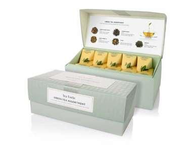 Coffret thé vert TeaForte 20 pyramides Assortiment