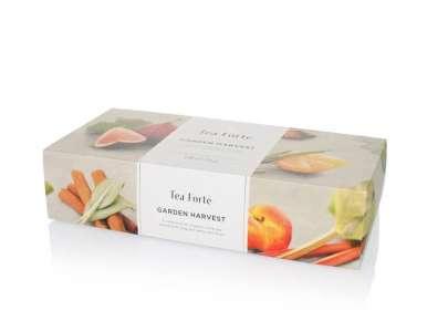 Coffret thé blanc bio Tea Forte 20 pyramides Harvest Garden
