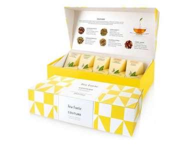 Coffret thé bio TeaForte 10 pyramides Couture