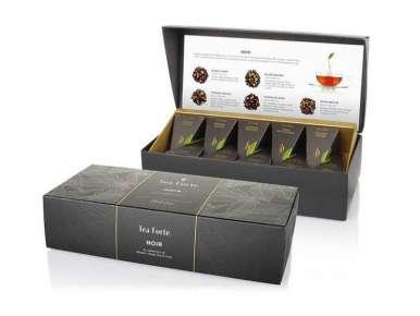 Coffret thé Noir bio Découverte Teaforté 10 pyramides