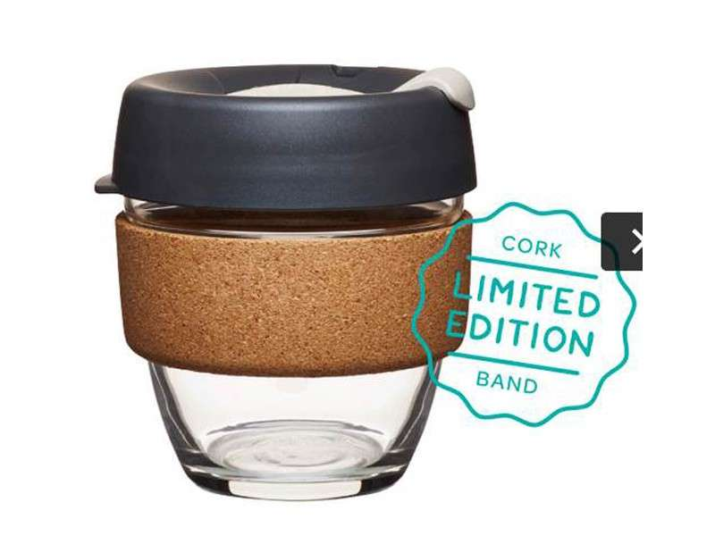 verre caf keepcup brew cork mod le press 227 ml. Black Bedroom Furniture Sets. Home Design Ideas
