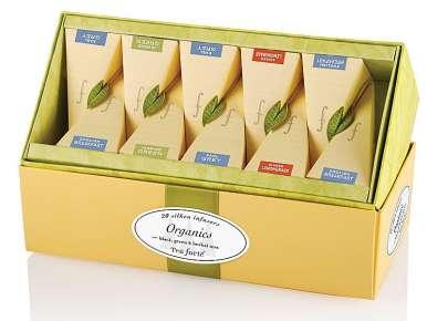 Coffret thé Découverte Sampler TeaForte 20 pyramides