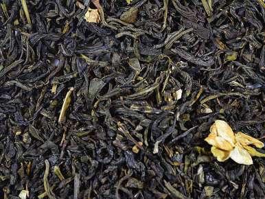 Thé vert parfumé au jasmin Chine Congou