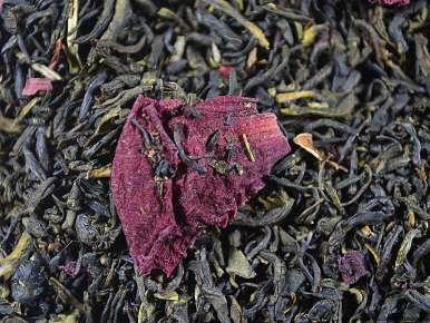 Thé blanc-vert aromatisé Parfum de femme