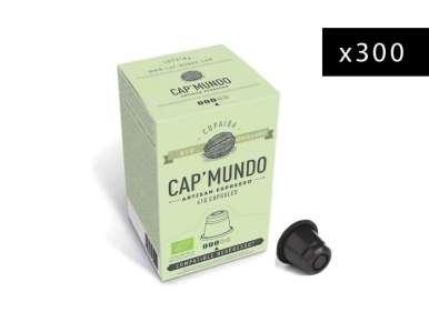 300 capsules café bio Capmundo Copaiba pour machine Nespresso®