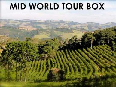 Box café prêt à offrir MID WORLD TOUR