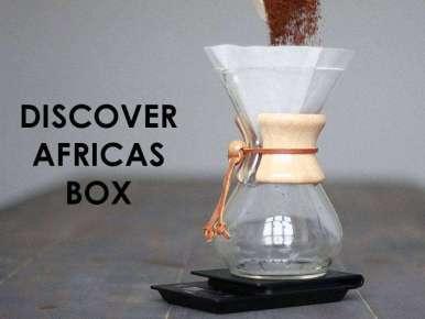 Box café prêt à offrir DISCOVER AFRICAS