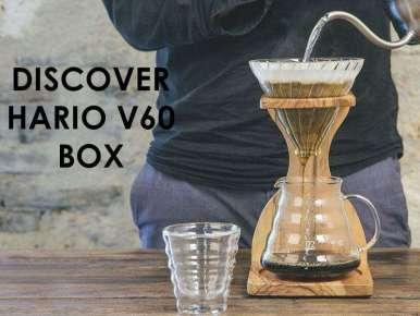 Box café Découverte HARIO V60