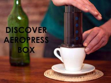Box café prêt à offrir Découverte AEROPRESS