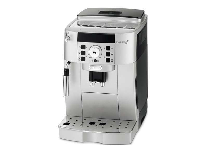 Machine caf grain delonghi magnifica s ecam 22140 sb couleur argent - Machine a cafe delonghi ...