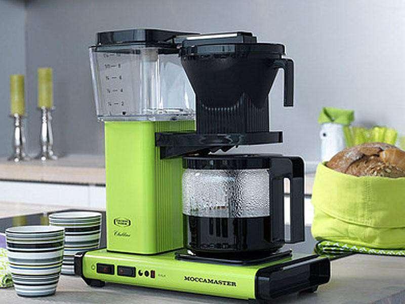 cafetiere filtre moccamaster kbg 741 vert pomme 125 cl et cadeaux. Black Bedroom Furniture Sets. Home Design Ideas