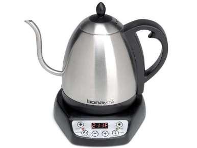 Bouilloire électrique Bonavita Gooseneck 1 litre