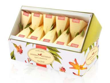 Coffret infusion TeaForte 10 pyramides Herbal Retreat