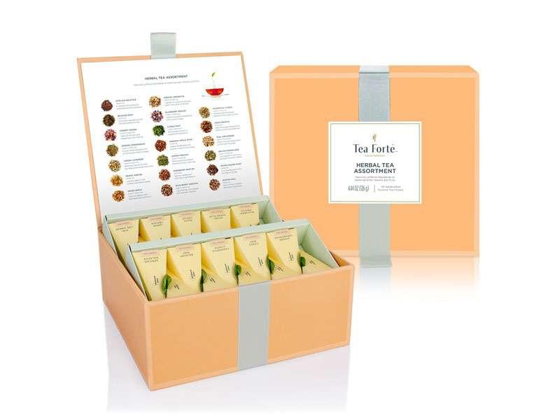Coffret infusion Tea Forte 40 pyramides Herbal Retreat