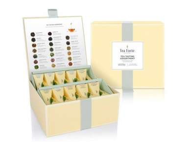 "Prestigious Tea Box 40 pyramids collection ""Tea Chest"""