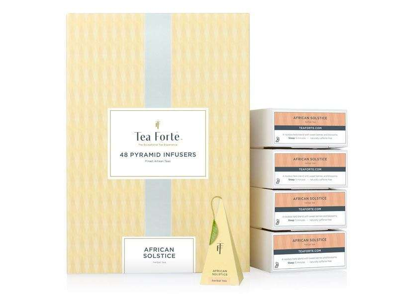 Coffret infusion Tea Forte 48 pyramides African Solstice