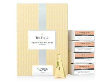 Tea Forté - Raspberry Nectar Herbal Infusions - Coffret 48 pyramides