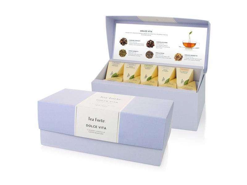 Coffret thé Découverte Dolce Vita Tea Forte 20 pyramides
