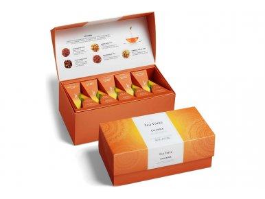 Tea Forté - Chakra Chai Tea - Coffret de 20 pyramides - Assemblé à la main