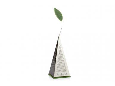 Tea Forté Infuseur Icon pour thé vrac en acier inoxydable