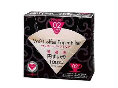 Filtres pour Hario V60 Dripper 1-4 tasses