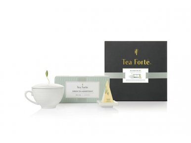 Tea Forté Rejuvenation - Coffret cadeau complet de thé et accessoires