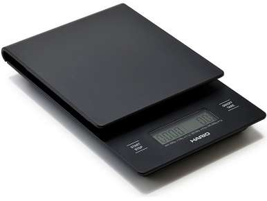 Balance chronomètre pour filtration V60