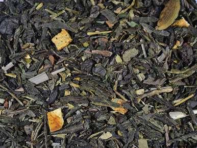 Flavored No Tox Sencha Gunpowder Green Mate Tea (Lemon, Mint, Spices)