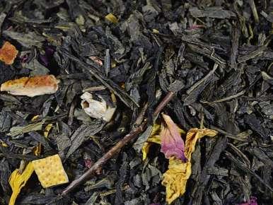 Flavored Green Tea A Summer In Capri (Strawberry, Grapefruit)