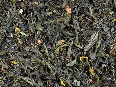 "Flavored Green Tea ""Si Versailles m'était Conté"" (Bergamot, Pear, Vanilla)"