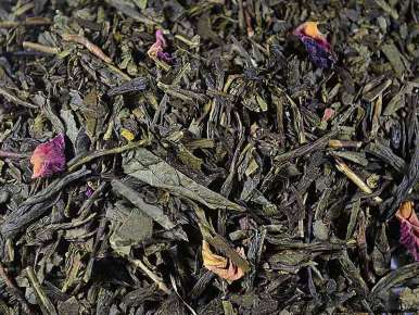 Flavored Green Tea Bahia (Yuzu, Acai Berries)