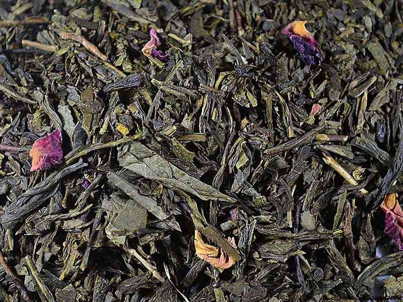 Thé vert aromatisé Un Thé à Bahia (Yuzu, Baie d'Acaï)