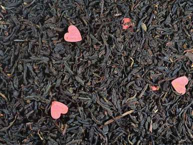 """Flavored Black Tea """"A Hymn to Love"""" (Red Fruits, Lychee, Roses)"""