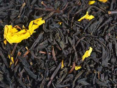 Flavored Black Tea Fall in Central Park (Fig, Almond, Apricot)