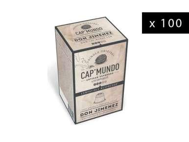 Coffee Capsules Cap' Mundo Don Jimenez for Nespresso® (x100)