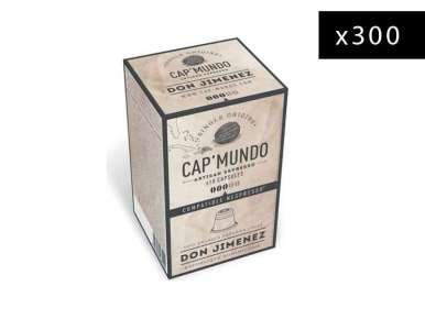 300 capsules café Cap' Mundo Don Jimenez pour machine Nespresso©