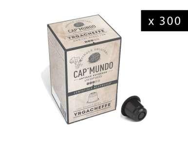300 Capsules café Cap' Mundo Yrgacheffe pour machines café Nespresso®