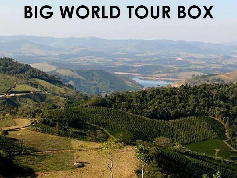Box Café Prêt à offrir BIG WORLD TOUR