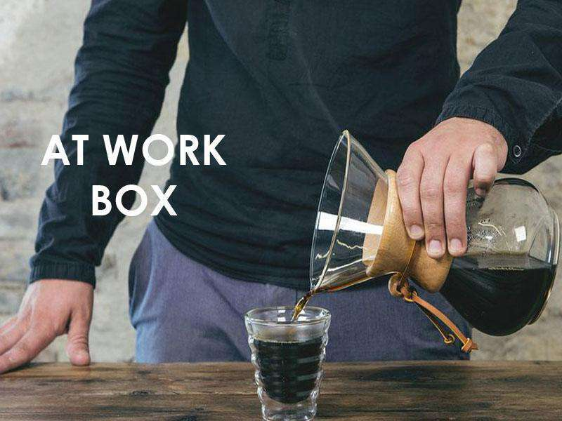 Box café prêt à offrir AT WORK