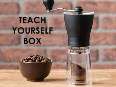 Box café prêt à offrir TEACH YOURSELF