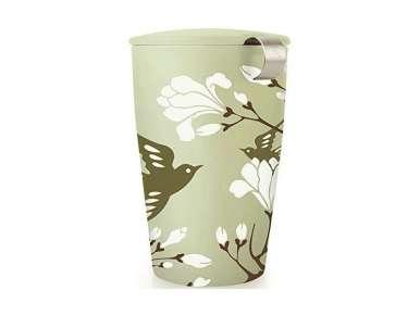 Tea Forte mug avec couvercle Kati Birdsong