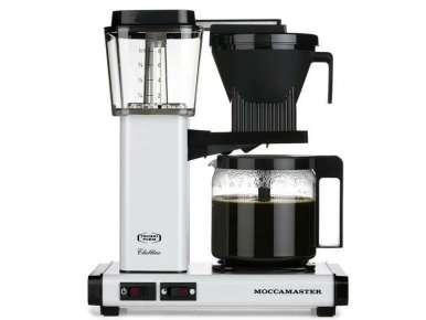 Cafetière filtre automatique Moccamaster KBG741 Blanc