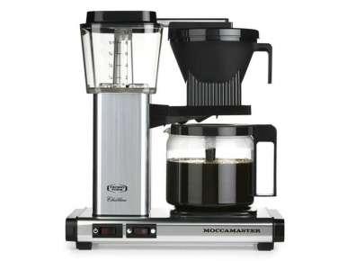 Cafetière filtre automatique Moccamaster KBG741 couleur Alu brossé