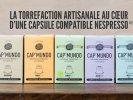 Capsules café Cap' Mundo Ebène pour machine Nespresso® (x300)