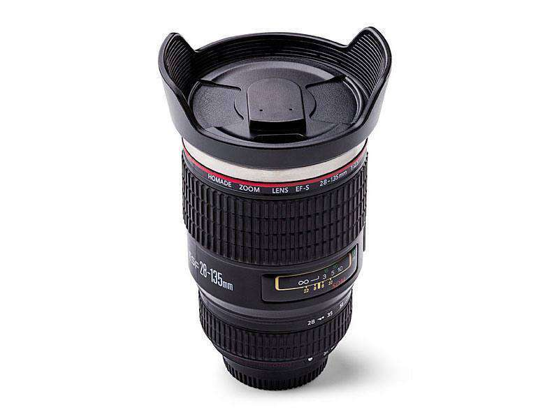Mug objectif appareil photo